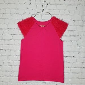 Kate Spade Fucsia Shortsleeve Top 12y